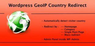 انتقال کاربران به صفحات خاص بر اساس آیپی با افزونه GeoIP