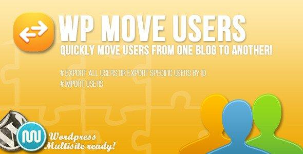انتقال کاربران در وردپرس با افزونه Wp Move Users