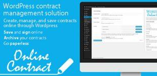 ایجاد سیستم قرارداد آنلاین در وردپرس با افزونه WP Online Contract