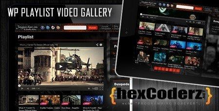 نمایش ویدئو در وردپرس با افزونه Wp Playlist Video Gallery