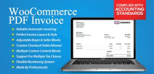 ایجاد فاکتور در ووکامرس با افزونه Woocommerce PDF invoices