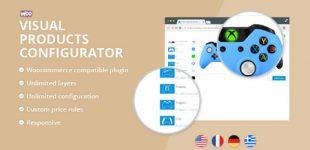 پیکربندی تصویری محصولات در ووکامرس با افزونه Woocommerce Visual Products Configurator