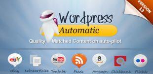 ارسال مطلب در وردپرس با افزونه Wordpress Automatic Plugin