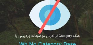 حذف Category از آدرس موضوعات وردپرس با افزونه Wp No Category Base
