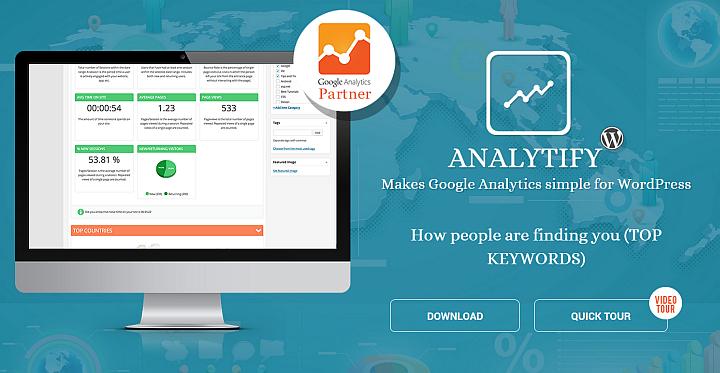 ایجاد کوگل آنالیز و ارائه آمار در وردپرس با افزونه Analytify