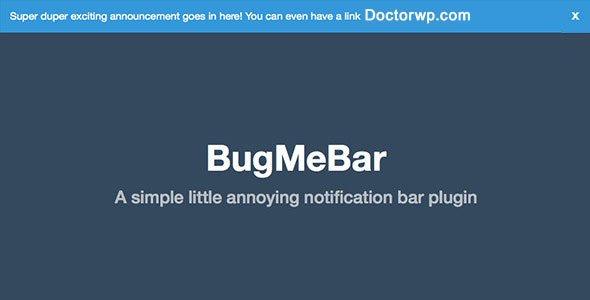 ایجاد نوار ابزار اطلاع رسانی در وردپرس با افزونه BugMebar