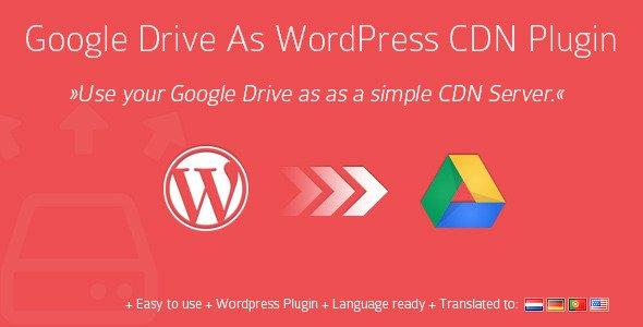 استفاده از گوگل درایور به عنوان CDN در وردپرس با Google Drive As WordPress CDN Plugin