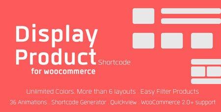 نمایش محصولات ووکامرس در وردپرس با افزونه Display Product