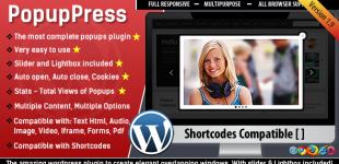 نمایش پنجره پاپ آپ در وردپرس با افزونه PopupPress