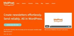ایجاد خبرنامه در وردپرس با افزونه MailPoet