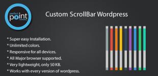 تغییر اسکرول بار در وردپرس با افزونه Scrollbar