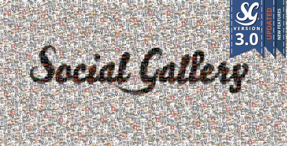 ایجاد گالری تصاویر به سبک فیسبوک در وردپرس با Social Gallery