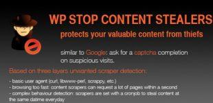 جلوگیری از سرقت محتوا در وردپرس با افزونه Stop Content Stealers