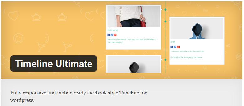 ایجاد Timeline در وردپرس با افزونه Timeline Ultimate