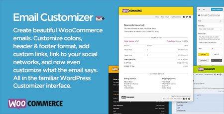 شخصی سازی ایمیل های ووکامرس با افزونه Email Customizer
