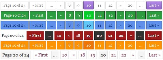 نمایش شماره صفحات در وردپرس با افزونه Wp-pagenavi