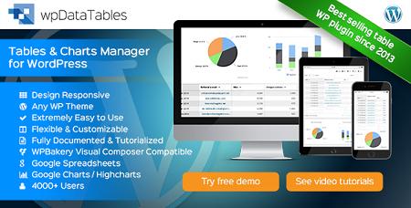 ایجاد جدول پیشرفته در وردپرس با افزونه Wp Data Tables