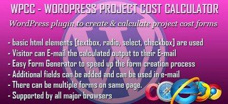 محاسبه آنلاین هزینه پروژه ها در وردپرس با افزونه WPCC