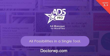 مدیریت حرفه ای تبلیغات در وردپرس با افزونه Ads Pro