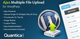 آپلود همزمان چندین فایل به صورت ajax در وردپرس با افزونه Ajax Multi Upload