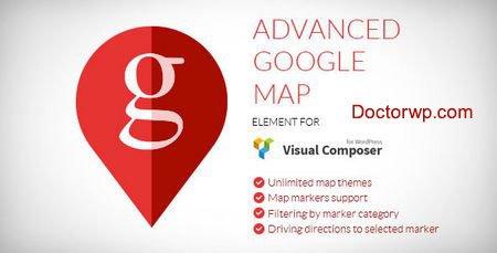 نمایش نقشه گوگل در ویژوال کامپوسر با افزونه Advanced Google Map