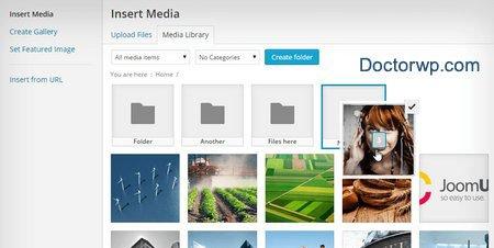 پوشه بندی کردن رسانه وردپرس با افزونه Wp Media Folder