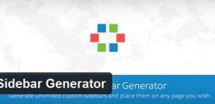 مدیریت سایدبار در وردپرس با افزونه SMK Sidebar Generator
