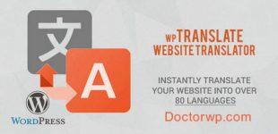 چند زبانه کردن سایت وردپرسی با افزونه Wp Translate
