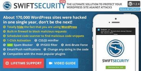 تامین امنیت سایت وردپرسی با افزونه Swift Security