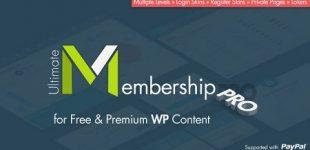 عضویت ویژه در وردپرس با افزونه Ultimate Membership Pro
