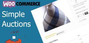 حراجی محصولات ووکامرس با افزونه Woocommerce Simple Autions