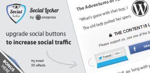 دانلود مطالب به ازای اشتراک گذاری در وردپرس با افزونه Social Locker