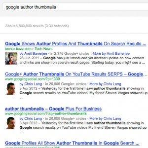 نمایش اطلاعات گوگل پلاس نویسنده وردپرس در نتایج جستجو