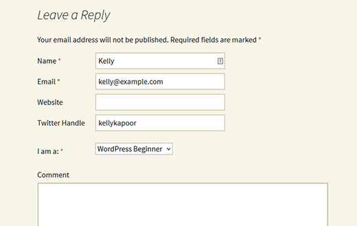 comment-form-custom-fields