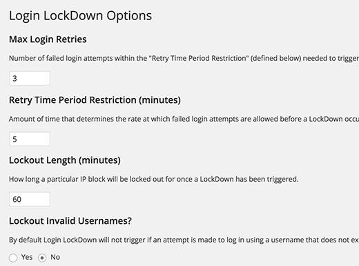 loginlockdown-settings