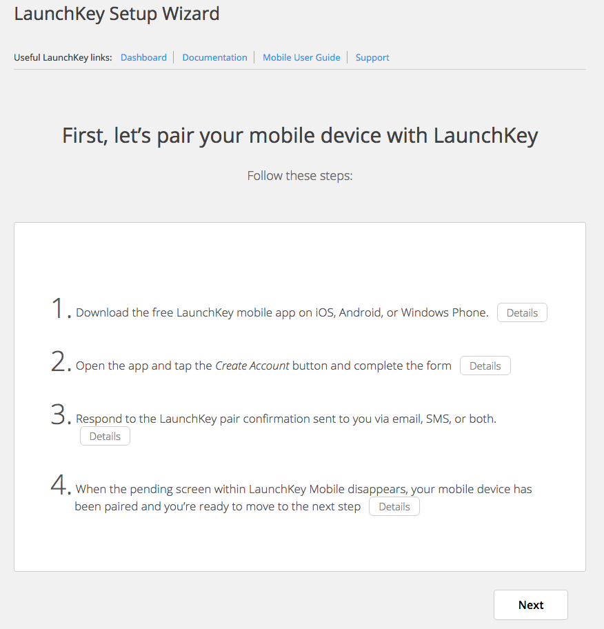 launchkey-conf