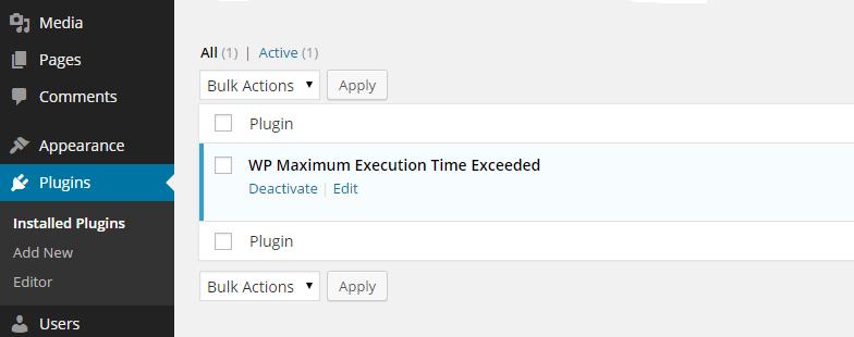 maximumexecutiontime
