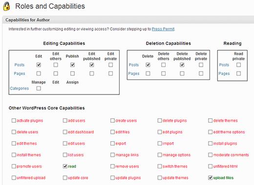 select-capabilities
