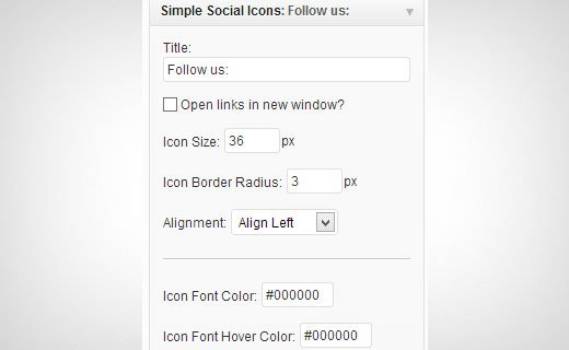 simplesocialicons-settings