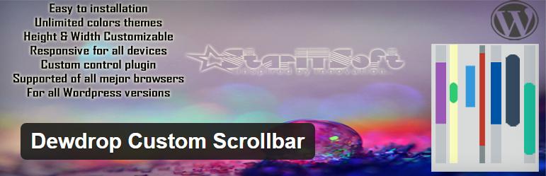 Dewdrop Custom Scrollbar