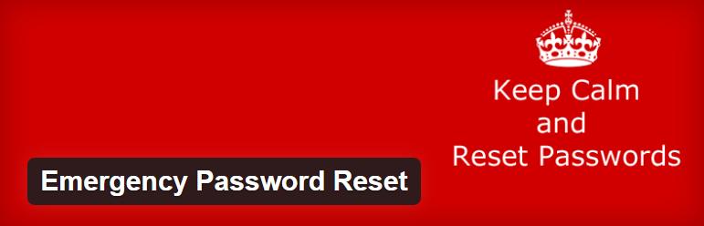 Emergency Password Reset