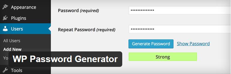WP Password Generator doctorwp