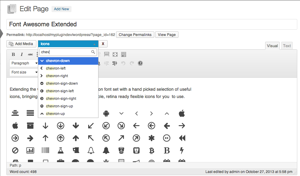 icon select