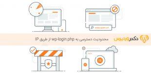 محدودیت دسترسی به wp-login.php از طریق IP