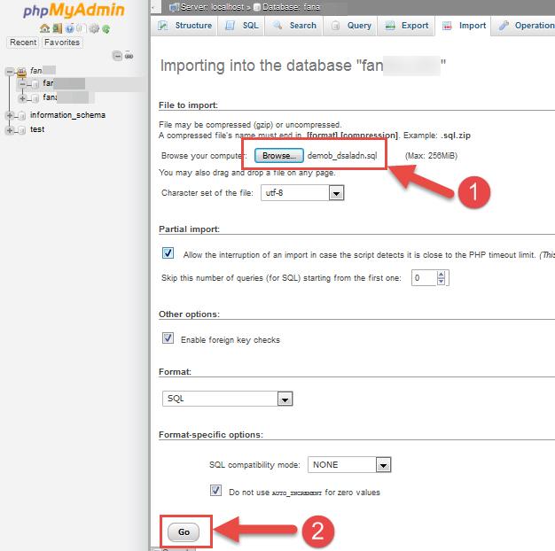 restore-wordpress-database-select