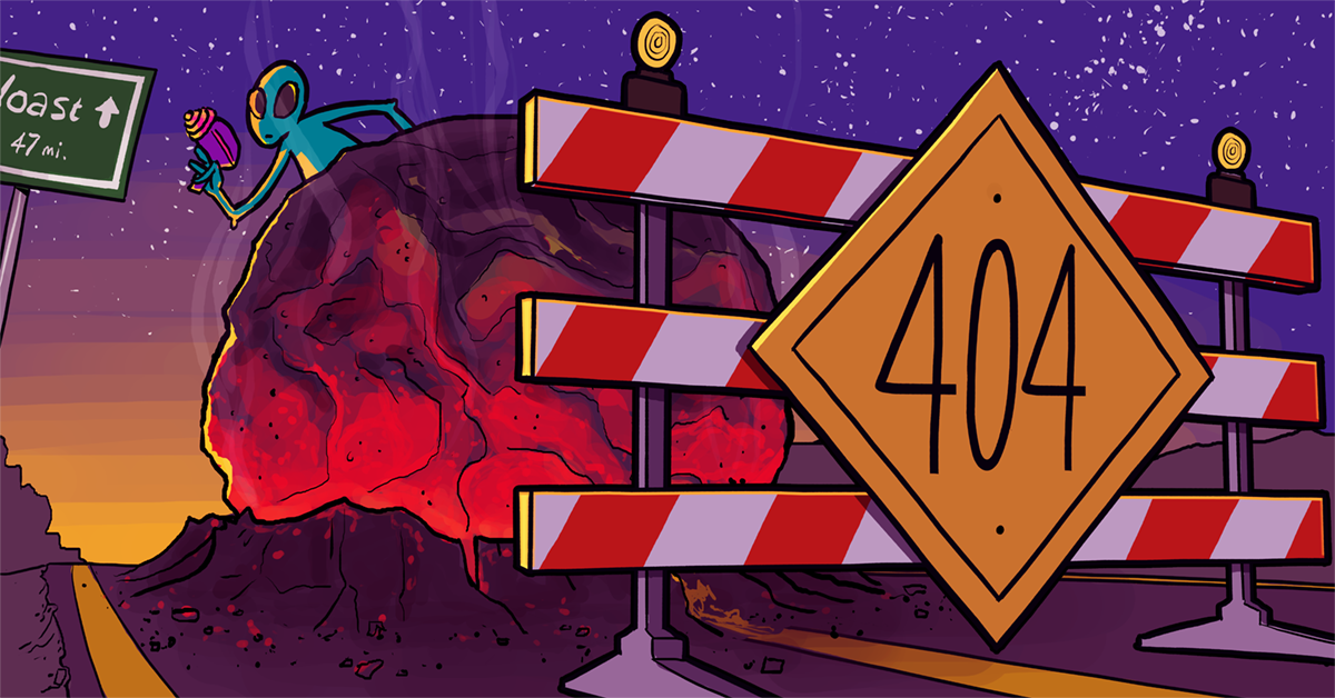 ارسال گزارش خطای 404 به ایمیل مدیر سایت