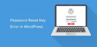 آموزش نحوه رفع خطای Password Reset Key در وردپرس