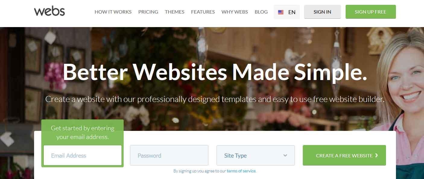 سایت ساز وبز