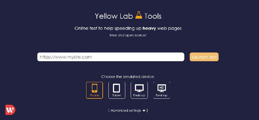 ابزار سرعت yellow lab tools