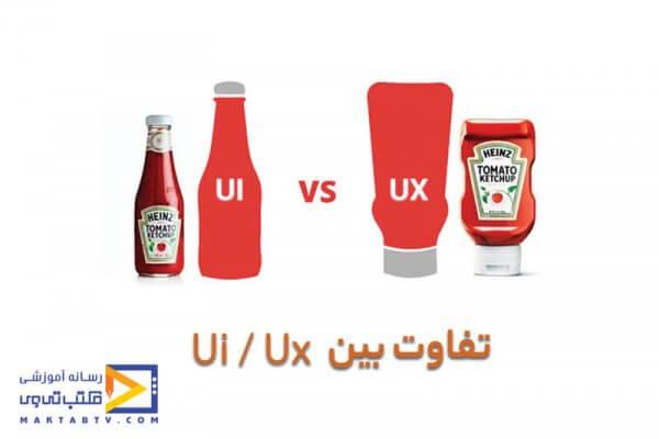 تفاوت های بین رابط کاربری و تجربه کاربری بیان میشود
